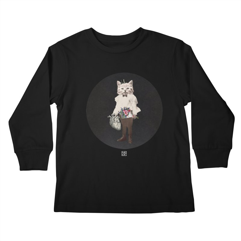 Heartstealer Kids Longsleeve T-Shirt by sigmablade collage