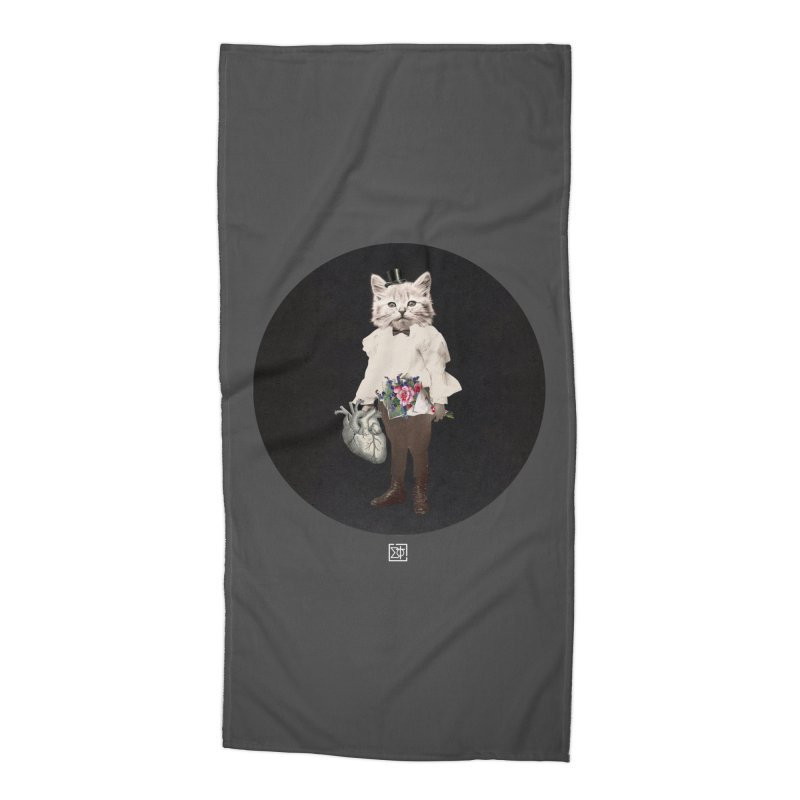 Heartstealer Accessories Beach Towel by sigmablade collage