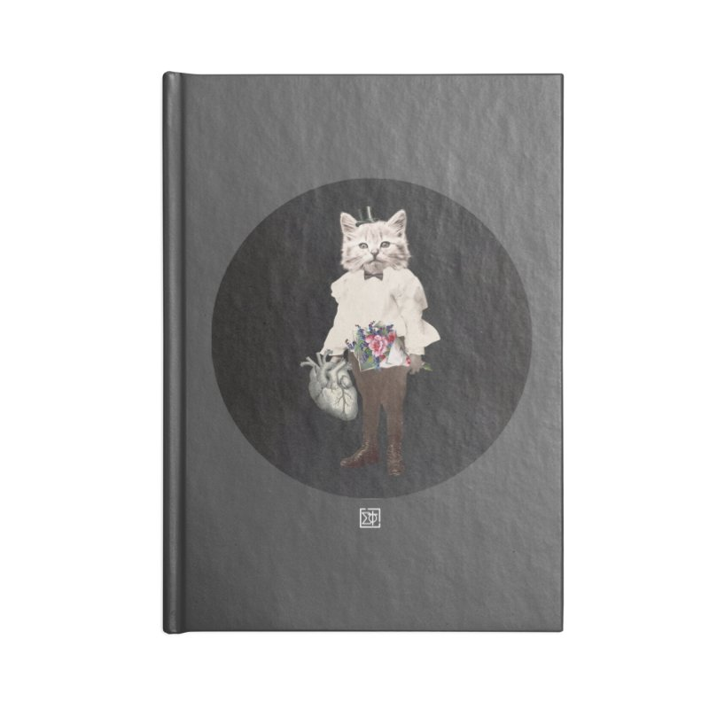 Heartstealer Accessories Lined Journal Notebook by sigmablade collage