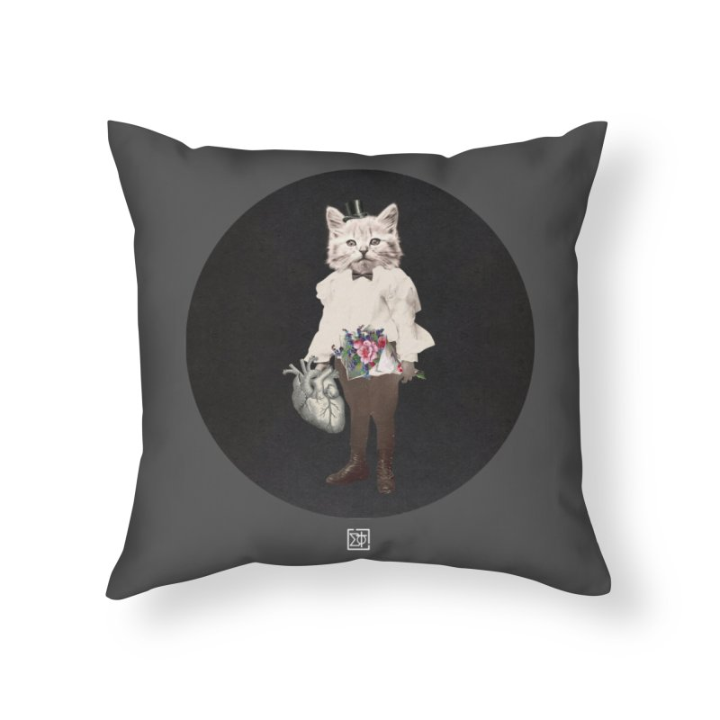 Heartstealer Home Throw Pillow by sigmablade collage