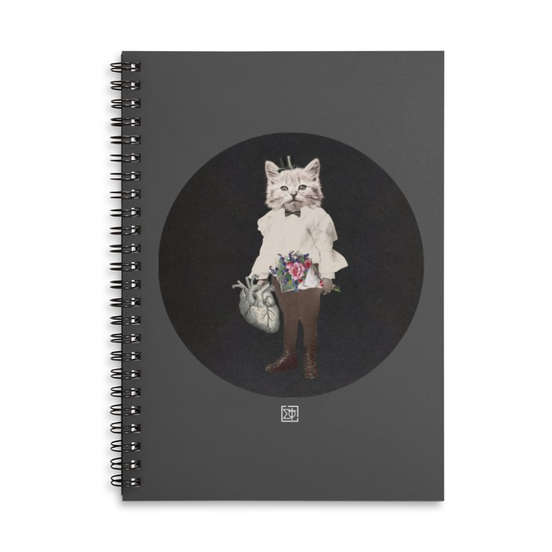 Heartstealer Accessories Lined Spiral Notebook by sigmablade collage