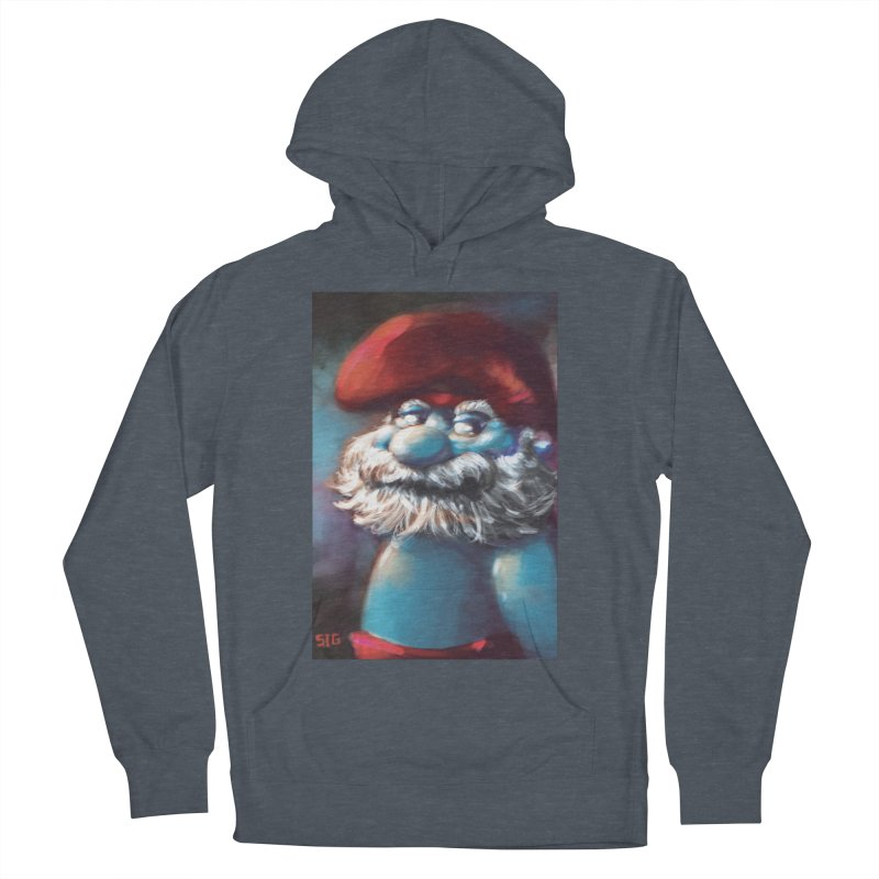 Papa Portrait Women's French Terry Pullover Hoody by Sigmund Torre