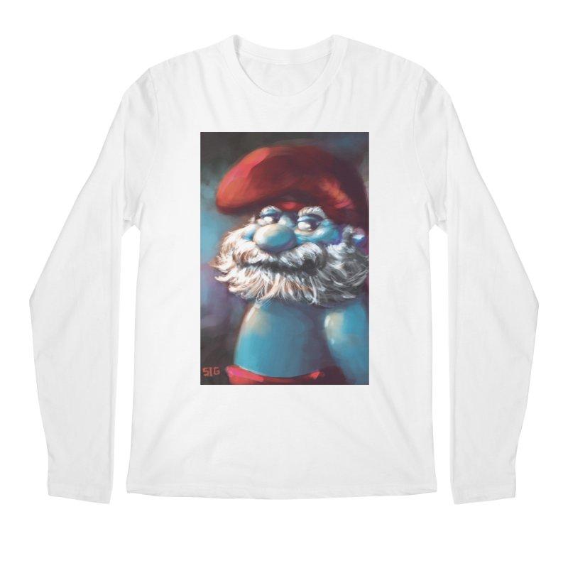 Papa Portrait Men's Longsleeve T-Shirt by Sigmund Torre