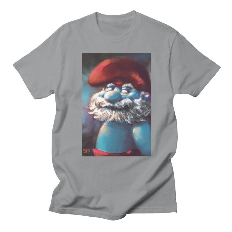 Papa Portrait Men's Regular T-Shirt by Sigmund Torre