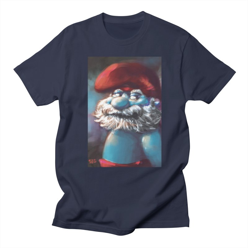 Papa Portrait Men's T-Shirt by Sigmund Torre