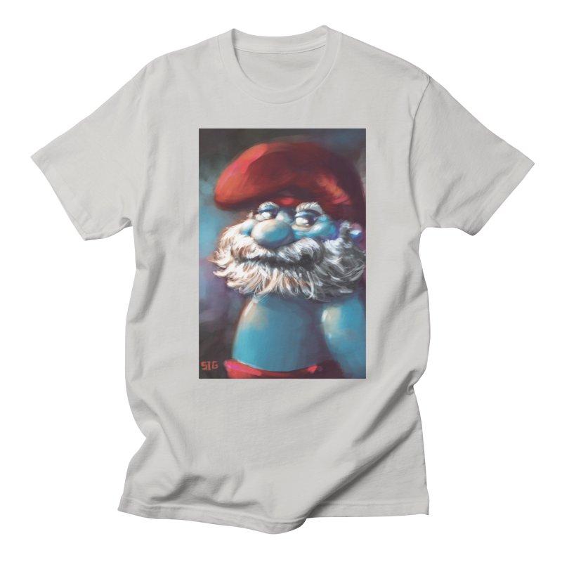 Papa Portrait Men's T-Shirt by Sigmund Torre