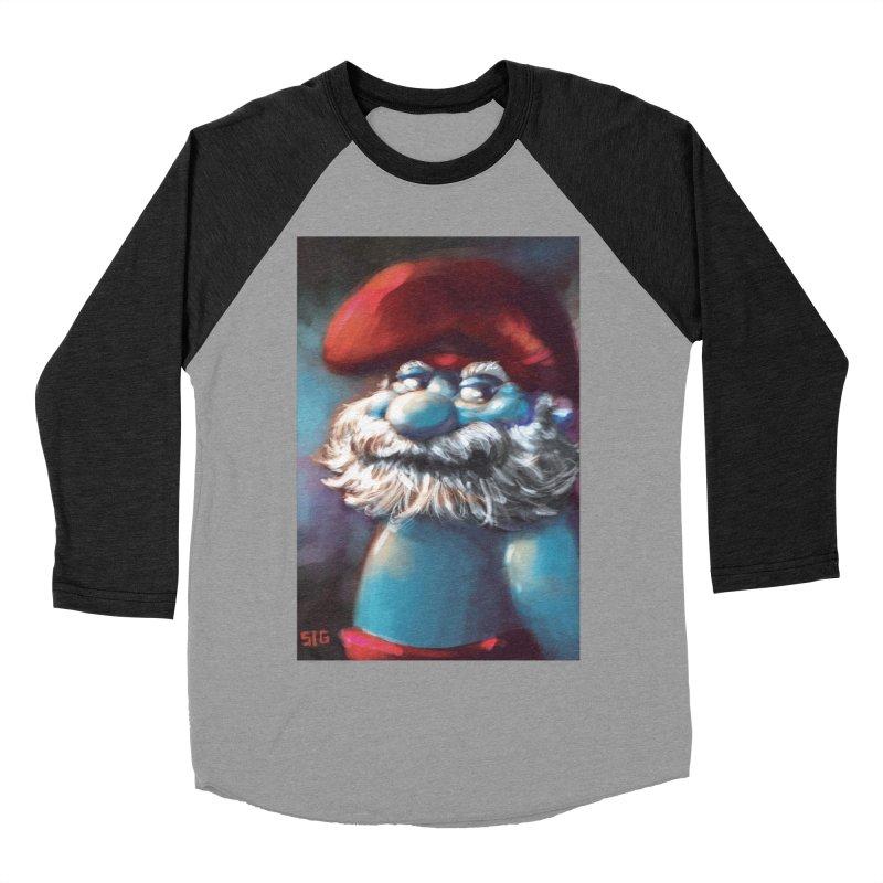 Papa Portrait Men's Baseball Triblend T-Shirt by Sigmund Torre