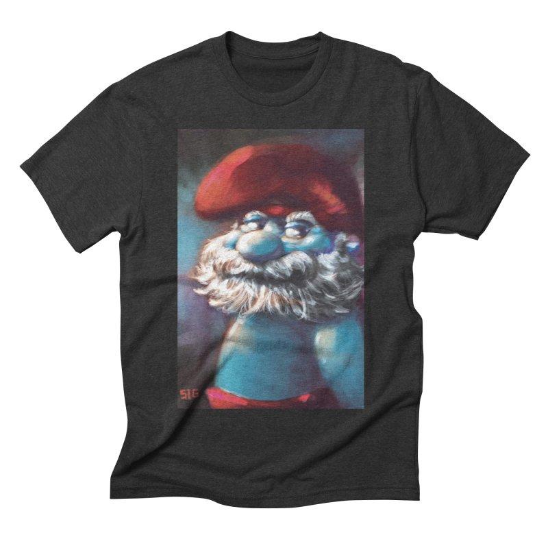 Papa Portrait Men's Triblend T-shirt by Sigmund Torre
