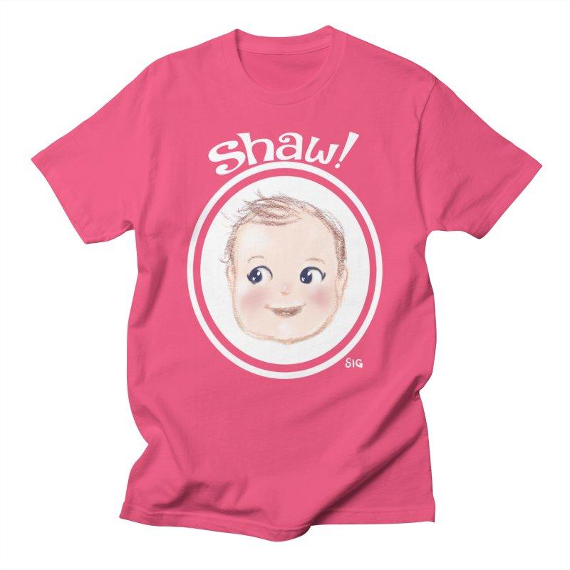 Shaw! Men's Regular T-Shirt by Sigmund Torre
