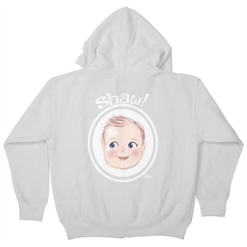 Shaw! Kids Zip-Up Hoody by Sigmund Torre
