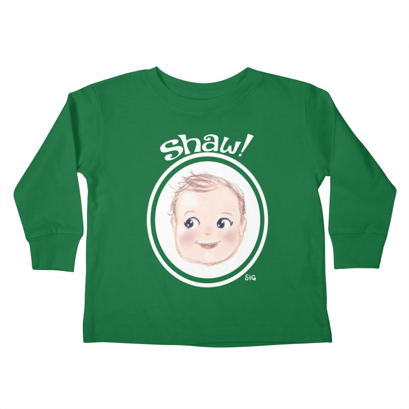 Shaw! Kids Toddler Longsleeve T-Shirt by Sigmund Torre