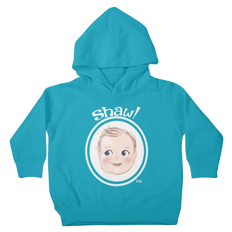 Shaw! Kids Toddler Pullover Hoody by Sigmund Torre