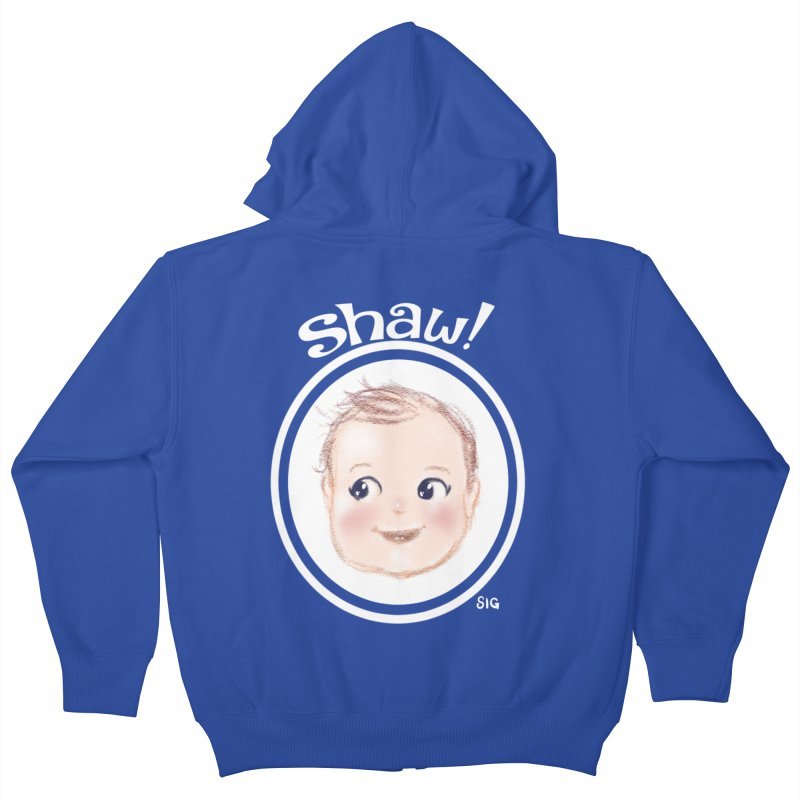 Shaw! Kids Zip-Up Hoody by Sigmund Torre