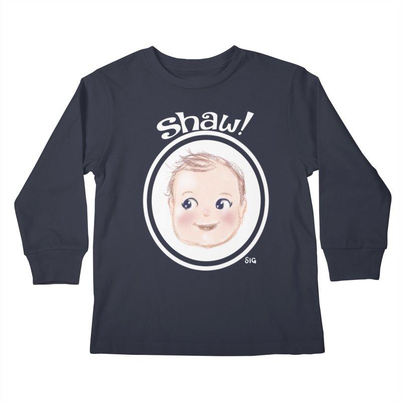 Shaw! Kids Longsleeve T-Shirt by Sigmund Torre