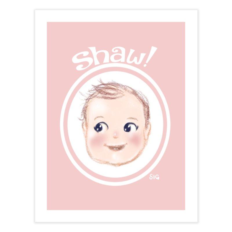 Shaw! Home Fine Art Print by Sigmund Torre