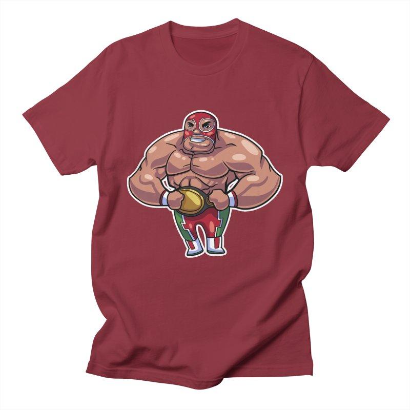 Champ! Men's Regular T-Shirt by Sigmund Torre