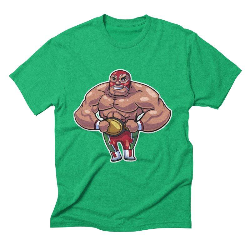 Champ! Men's Triblend T-shirt by Sigmund Torre