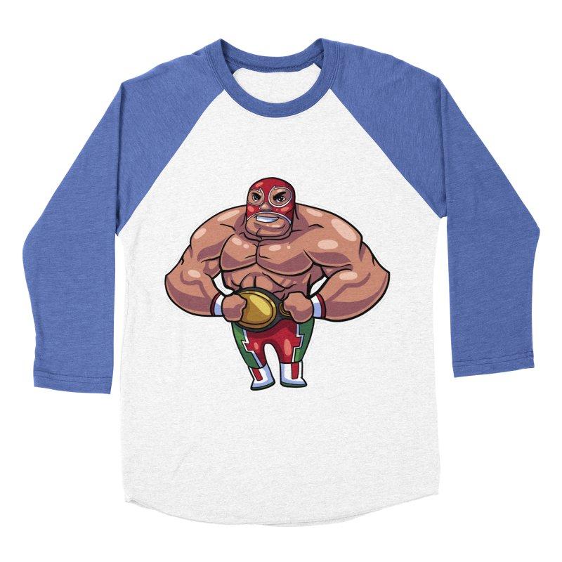 Champ! Women's Baseball Triblend T-Shirt by Sigmund Torre