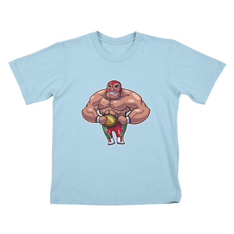 Champ! Kids T-Shirt by Sigmund Torre