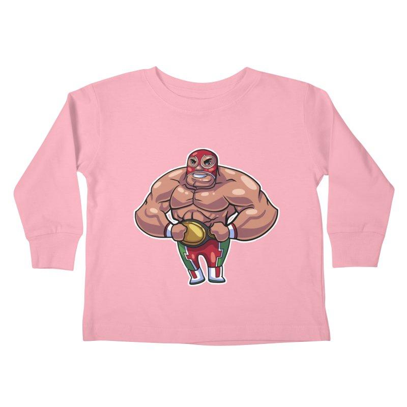 Champ! Kids Toddler Longsleeve T-Shirt by Sigmund Torre