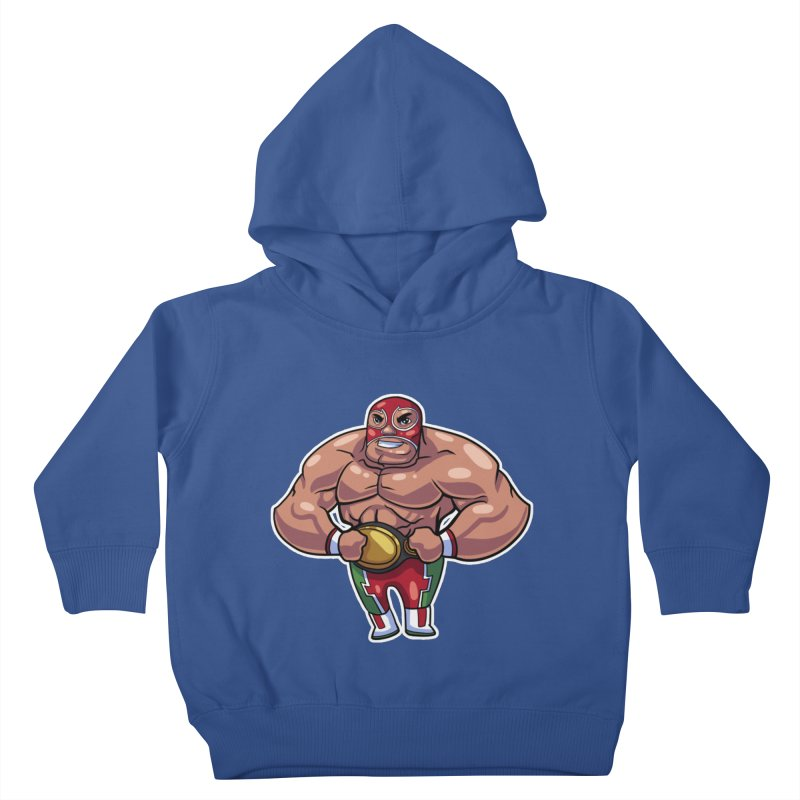 Champ! Kids Toddler Pullover Hoody by Sigmund Torre