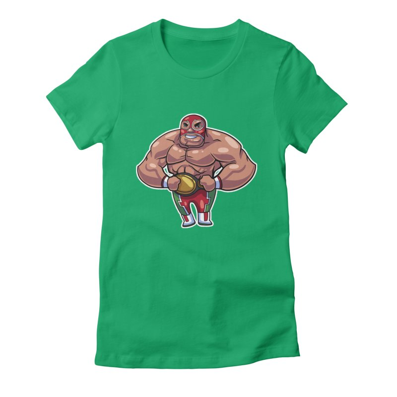 Champ! Women's Fitted T-Shirt by Sigmund Torre
