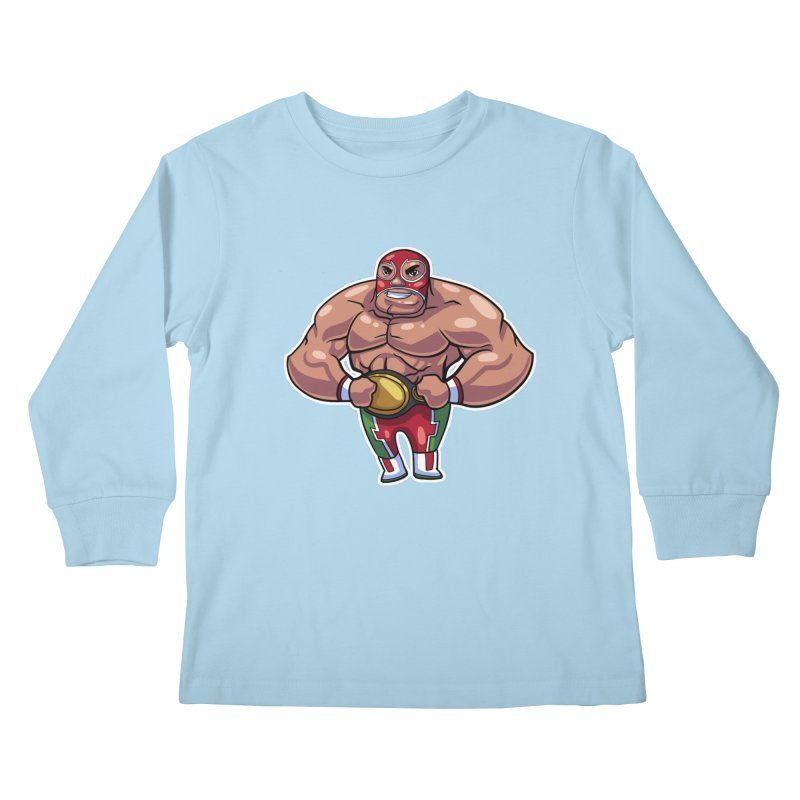 Champ! Kids Longsleeve T-Shirt by Sigmund Torre