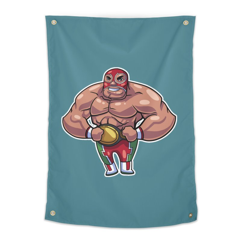 Champ! Home Tapestry by Sigmund Torre