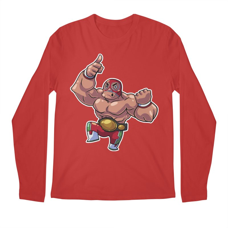 Lucha! Men's Longsleeve T-Shirt by Sigmund Torre