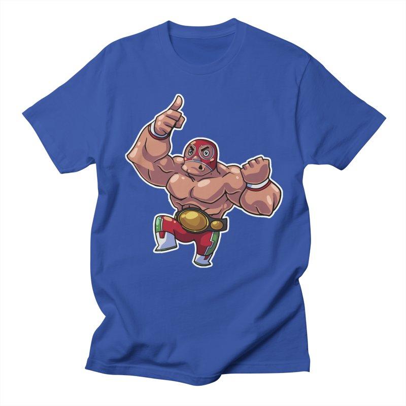 Lucha! Women's Unisex T-Shirt by Sigmund Torre