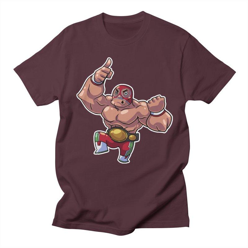 Lucha! Women's Regular Unisex T-Shirt by Sigmund Torre