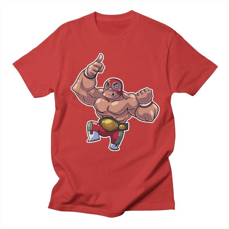 Lucha! Men's T-Shirt by Sigmund Torre