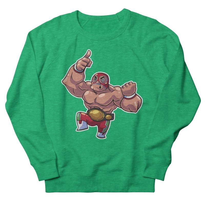 Lucha! Men's Sweatshirt by Sigmund Torre