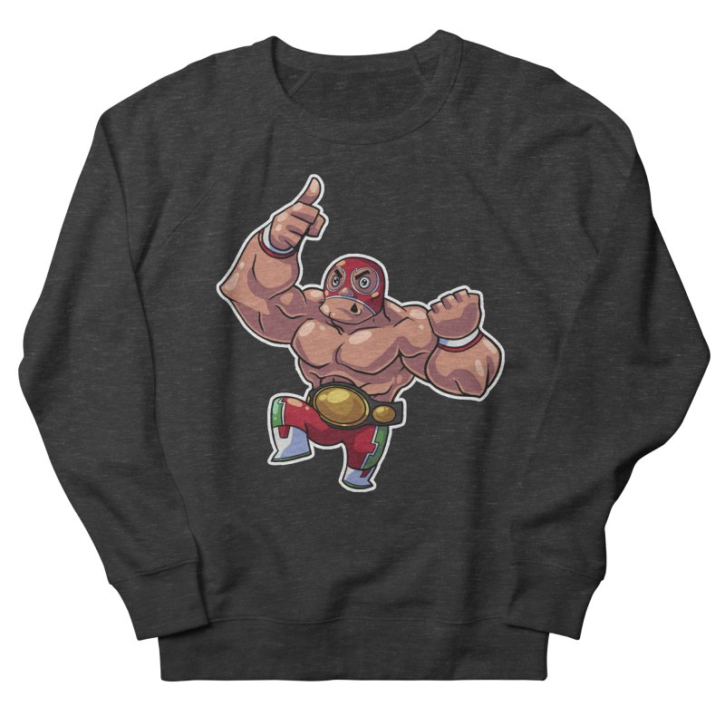 Lucha! Men's Sweatshirt by Sigmund Torre