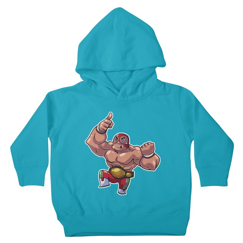 Lucha! Kids Toddler Pullover Hoody by Sigmund Torre