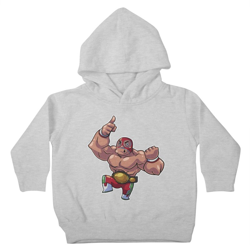 Lucha! Kids Toddler Pullover Hoody by Sigmund Torre