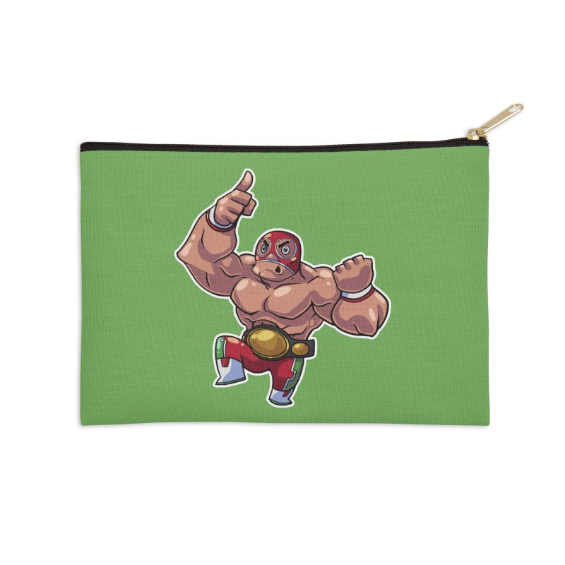 Lucha! Accessories Zip Pouch by Sigmund Torre