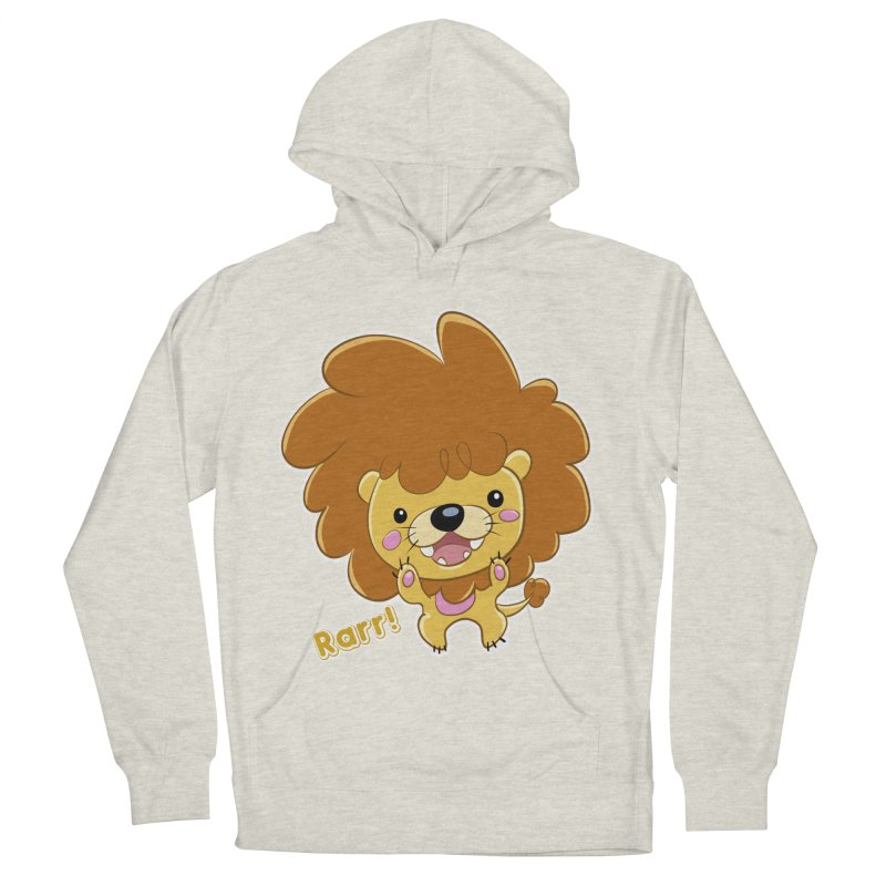 Rarr! Women's French Terry Pullover Hoody by Sigmund Torre