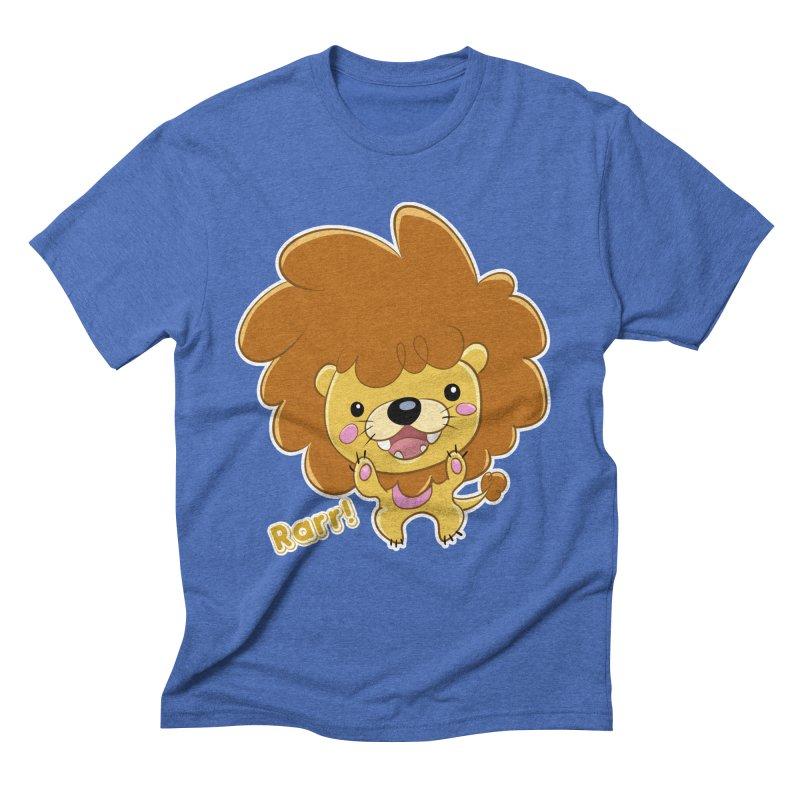 Rarr! Men's Triblend T-Shirt by Sigmund Torre