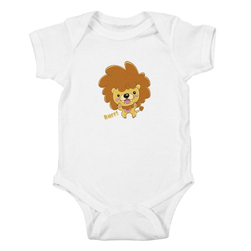 Rarr! Kids Baby Bodysuit by Sigmund Torre