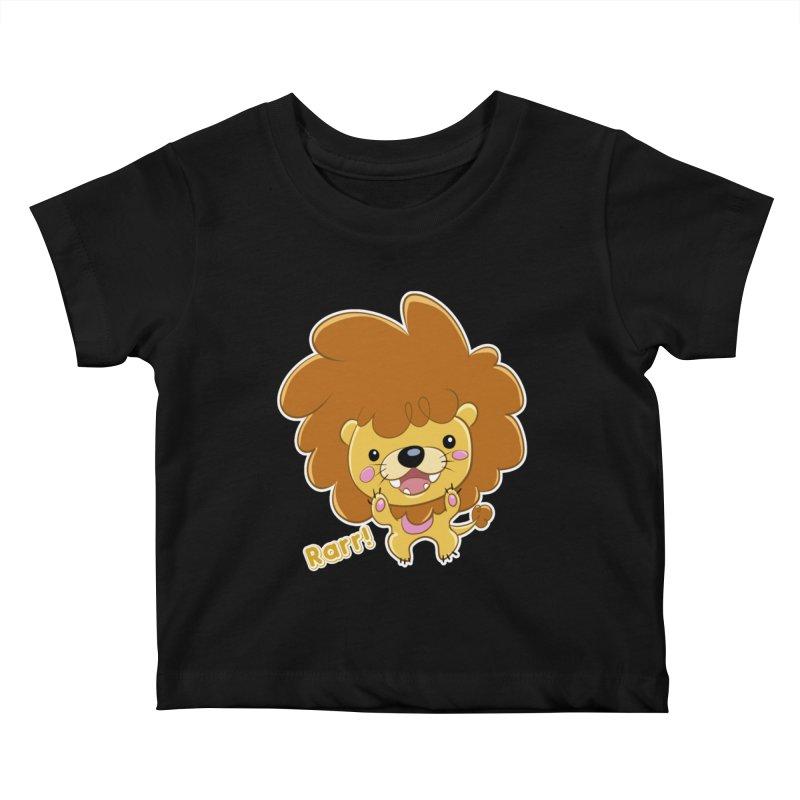 Rarr! Kids Baby T-Shirt by Sigmund Torre