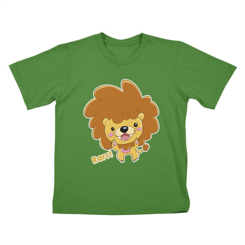 Rarr! Kids T-Shirt by Sigmund Torre