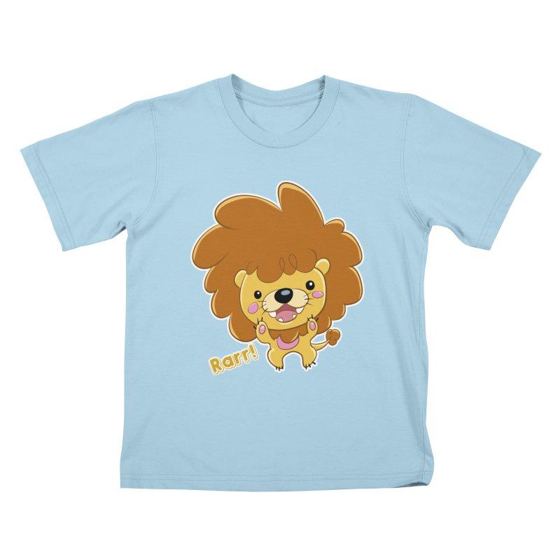 Rarr! Kids T-Shirt by Sigmund Torre