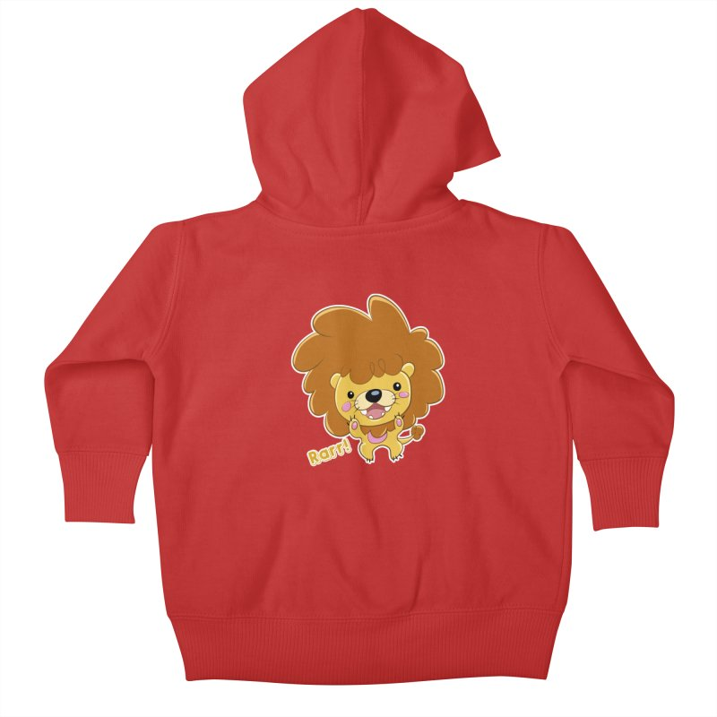 Rarr! Kids Baby Zip-Up Hoody by Sigmund Torre