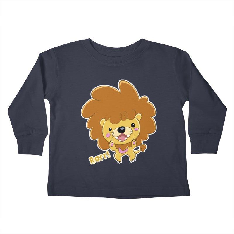 Rarr! Kids Toddler Longsleeve T-Shirt by Sigmund Torre