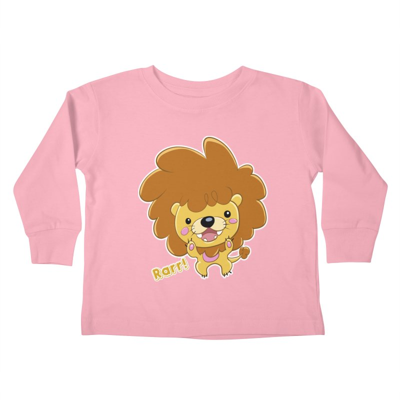 Rarr! Kids Toddler Longsleeve T-Shirt by Sigmund Torre