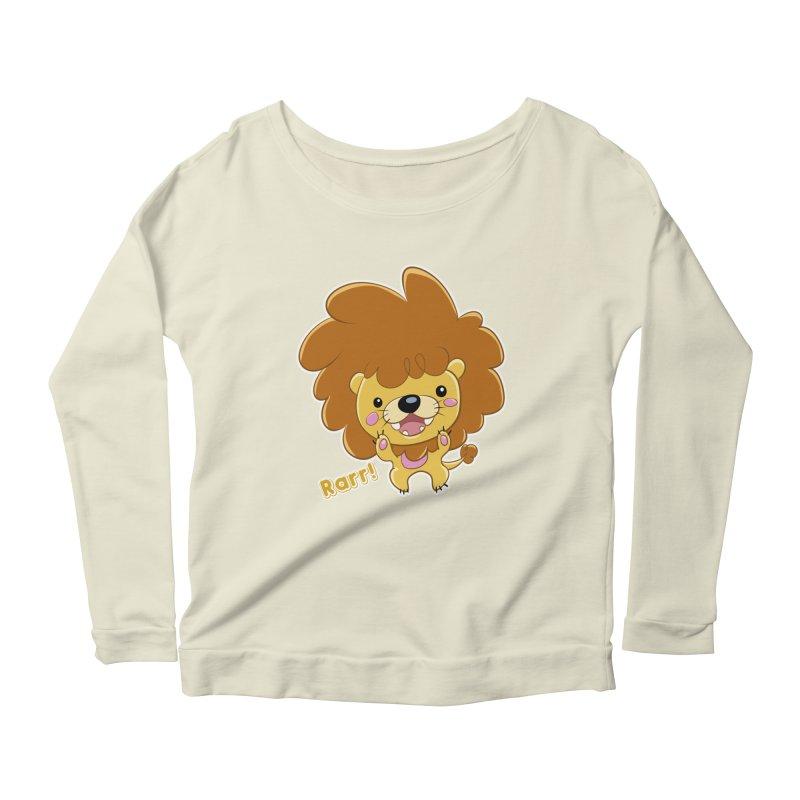 Rarr! Women's Scoop Neck Longsleeve T-Shirt by Sigmund Torre