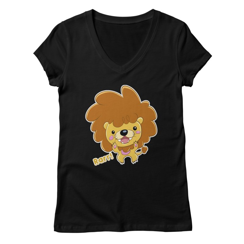 Rarr! Women's Regular V-Neck by Sigmund Torre