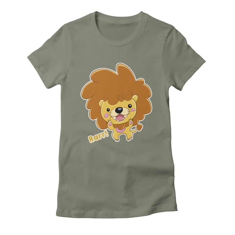 Rarr! Women's Fitted T-Shirt by Sigmund Torre