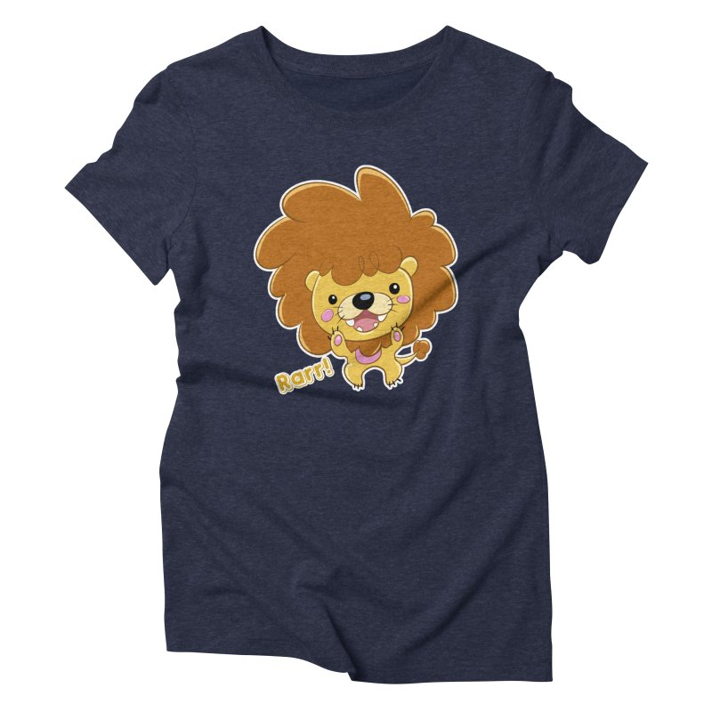 Rarr! Women's Triblend T-Shirt by Sigmund Torre